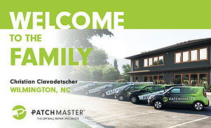 PatchMaster Welcomes Christian Clavadetscher to the family
