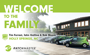 Welcome PatchMaster Serving Southern Wake County