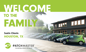 PatchMaster Specialty Drywall Repair Franchise Opening in Houston